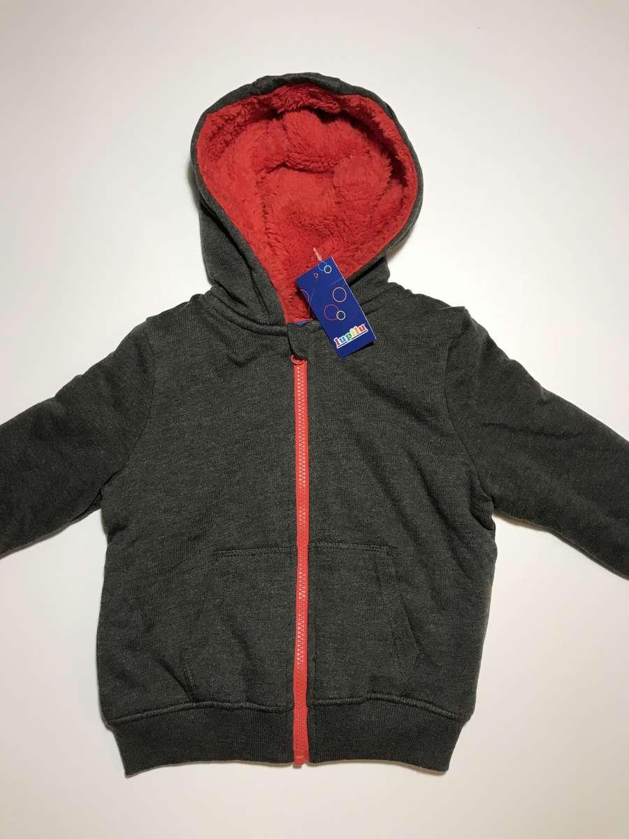Cвитшот толстовка с капюшоном детская на мальчика Lupilu 2-4 года