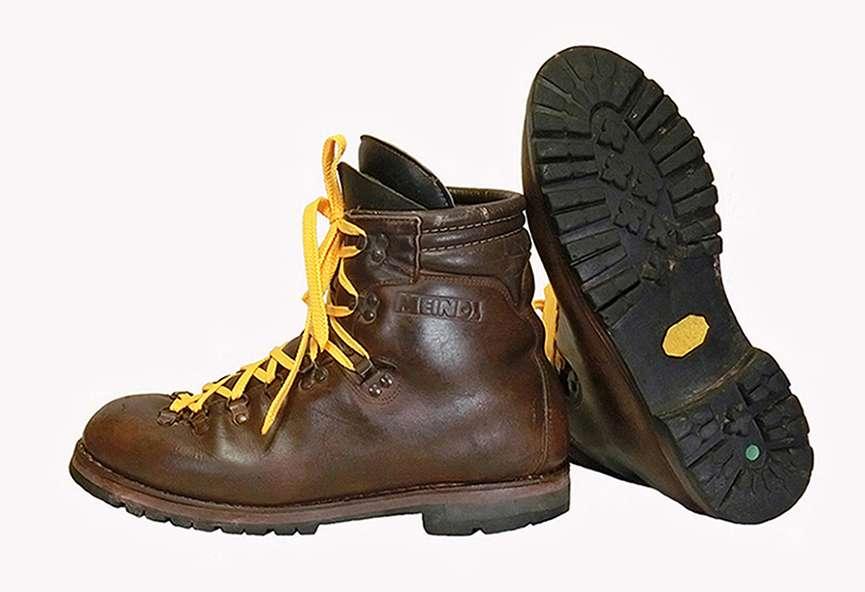 Ботинки горные. Размер 45/29.2 см.