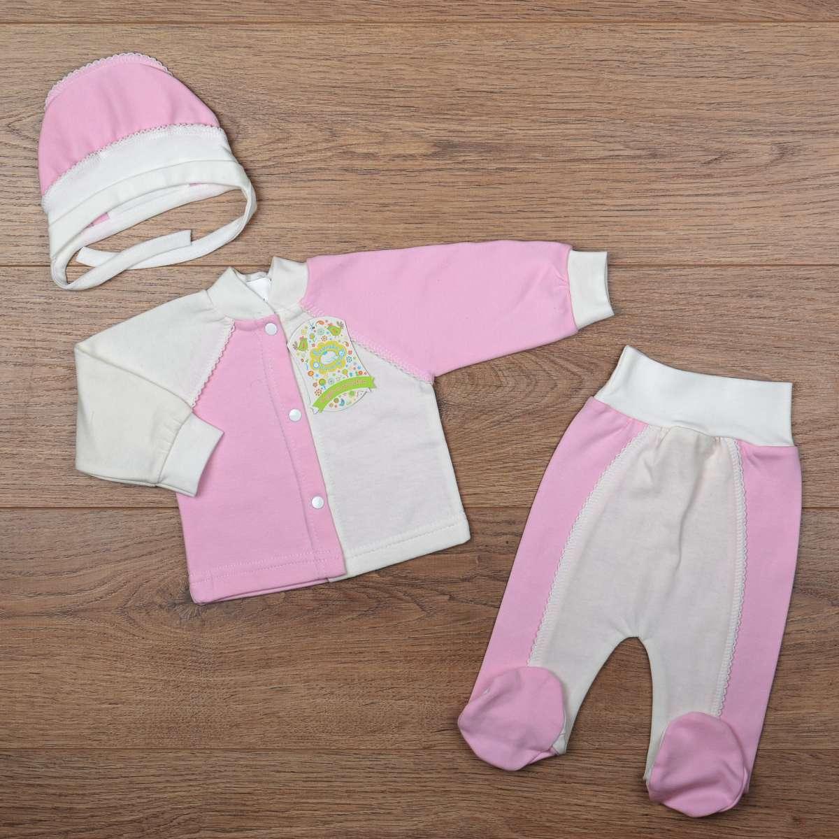 Комплект для новорожденной девочки (утепленный)