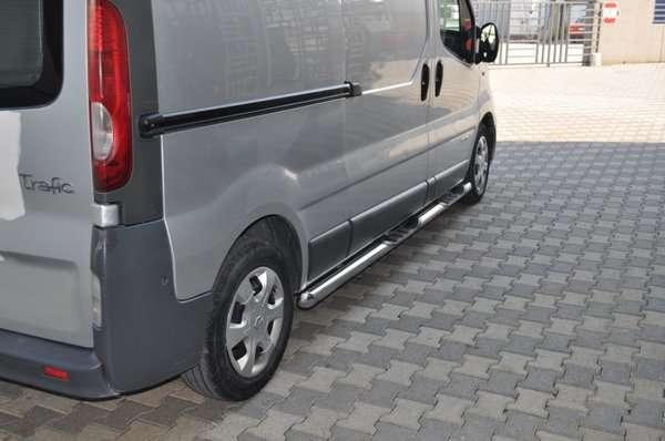 Пороги подножки Renault Trafic