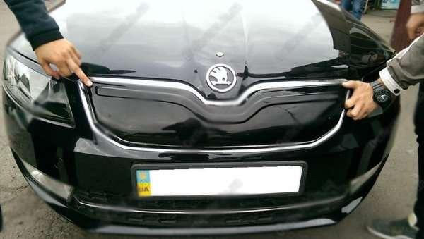 Skoda Octavia A7 Зимня заглушка