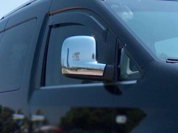 Volkswagen Caddy 04-16 Хром накладки на зеркала