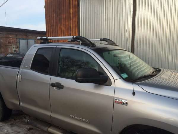 Рейлинги для Toyota Tundra