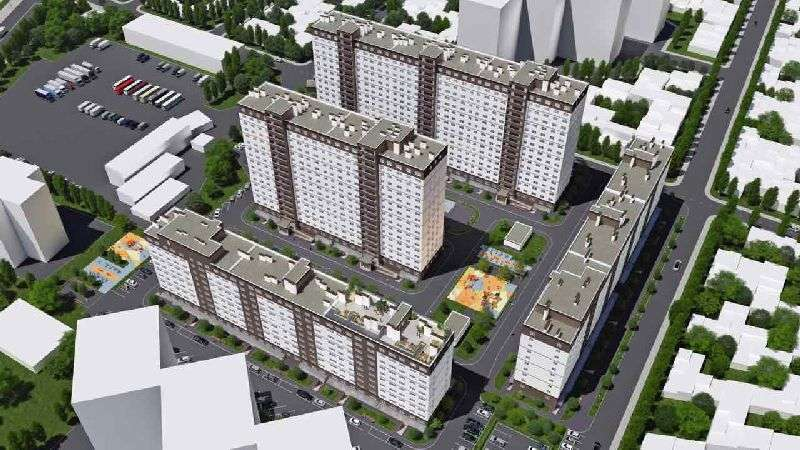 Трехкомнатная квартира в городе Одесса