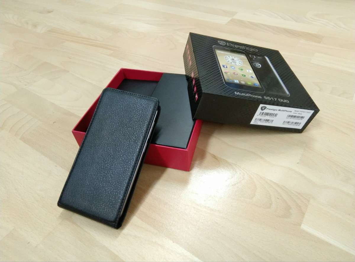 Смартфон Prestigio MultiPhone 5517 DUO (Black)