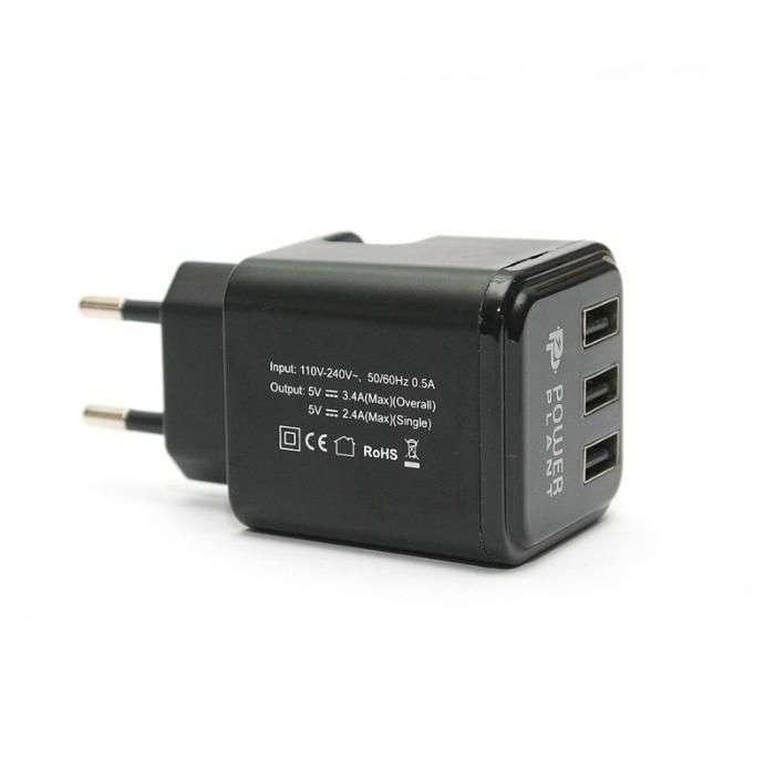 Зарядное на 3 USB