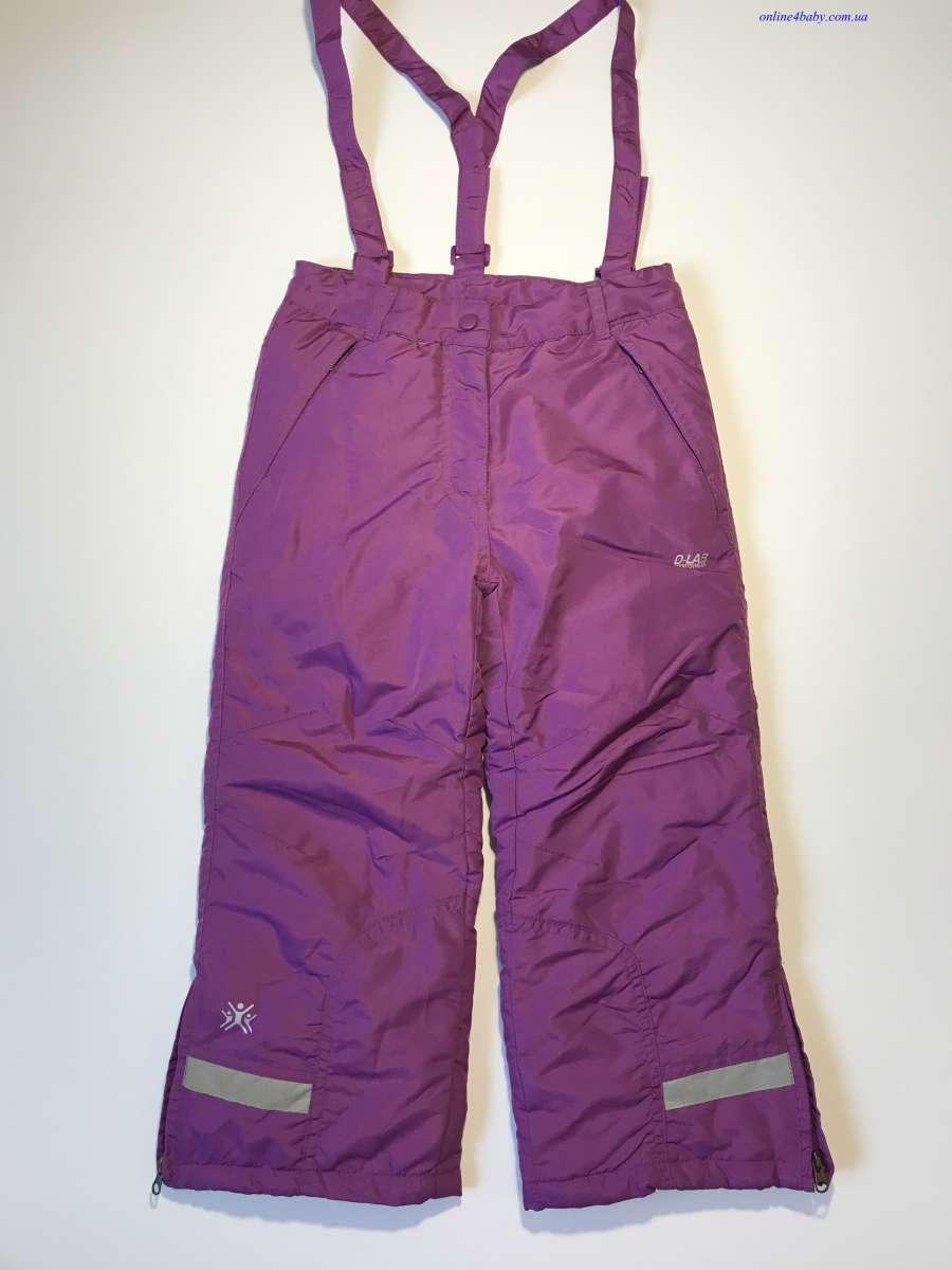 Детские лыжные штаны D-Lab на девочку 5-6 лет рост 116