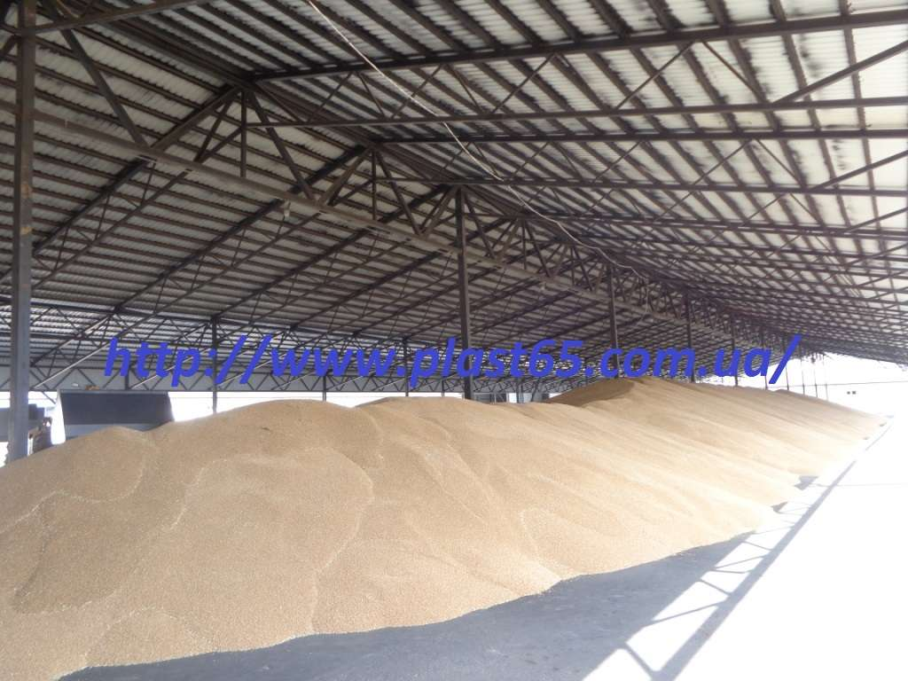Строительство ангаров для хранения зерна, сена, кормов под ключ.
