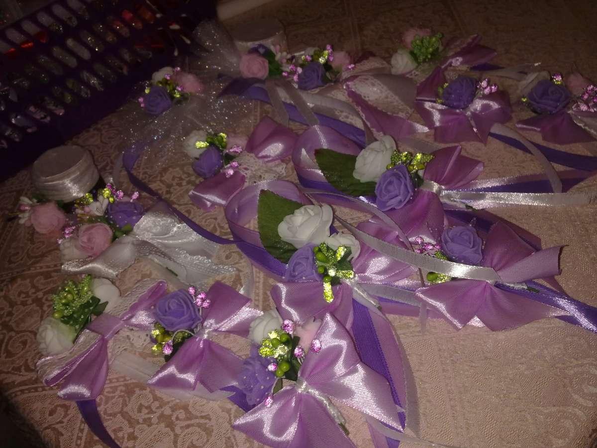 Роскошный набор свадебных аксессуаров