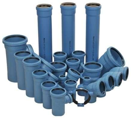 Трубы и фитинги из полипропилена для бесшумной внутренней канализации