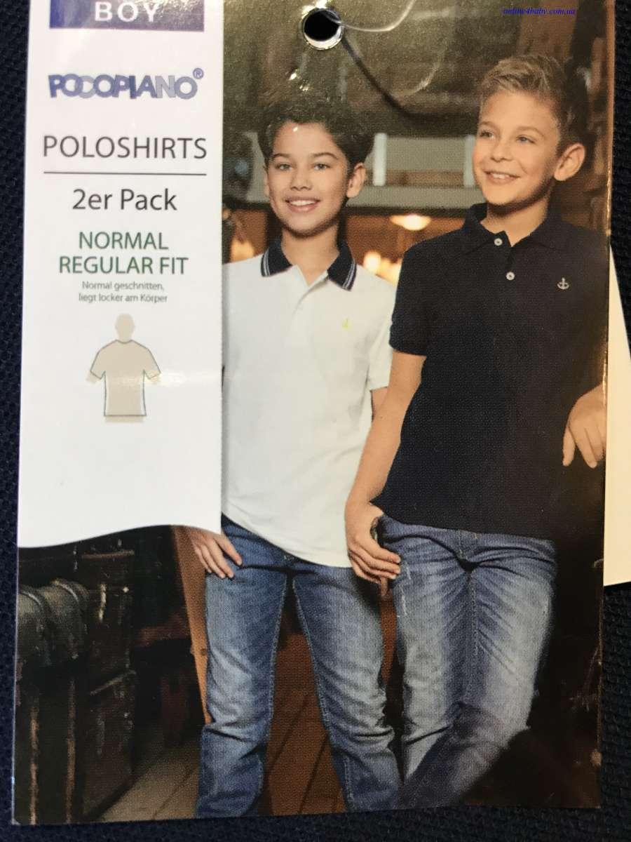 Детская тенниска поло Pocopiano на мальчика 5-6, 11-12, 13-14 лет