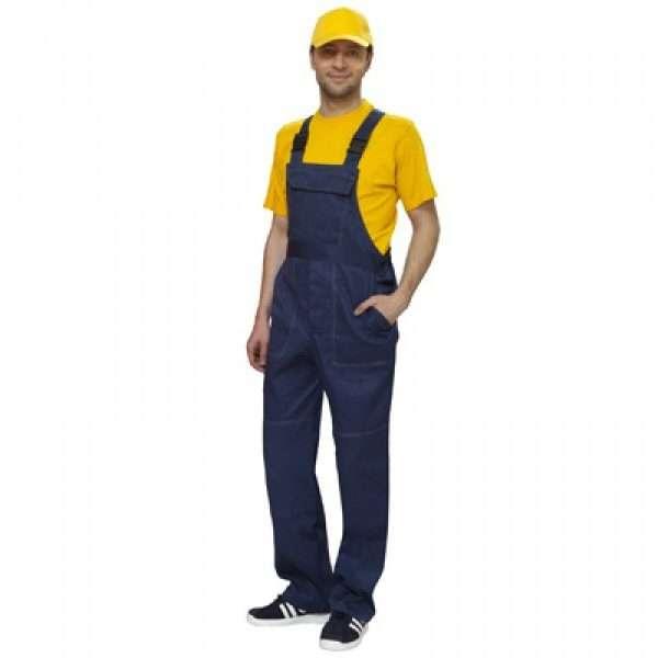 Полукомбинезон мужской рабочий для стройки, продажа комбинезонов