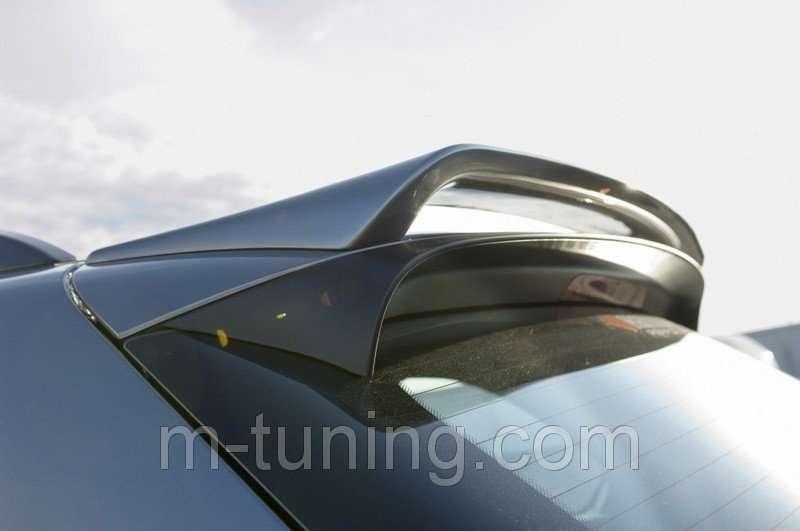 Спойлер козырек тюнинг накладка багажника BMW X5 E70 стиль Hamann