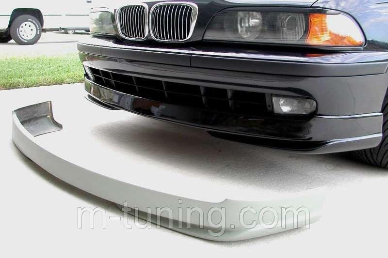 Губа накладка переднего бампера тюнинг обвес BMW E39 AC Schnitzer