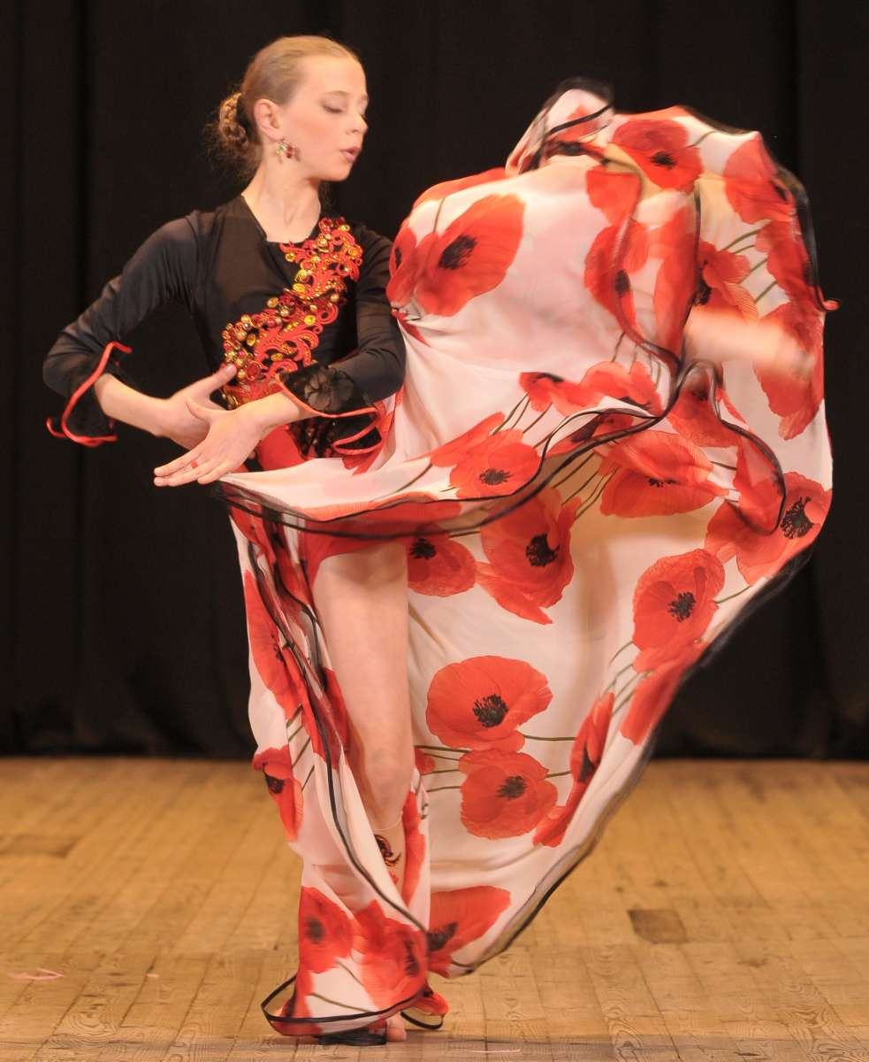 костюм для восточного танца табла-соло