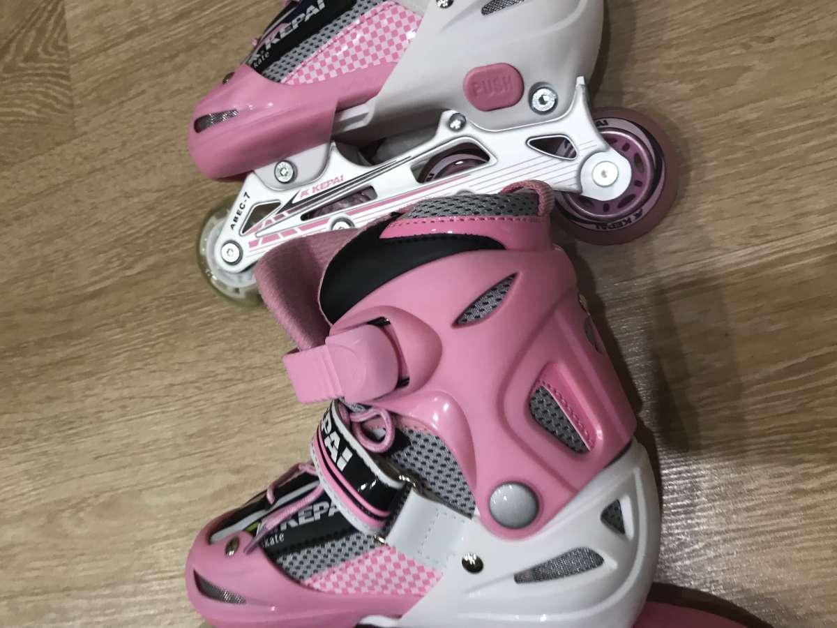 Ролики и шлем для девочки Kepai