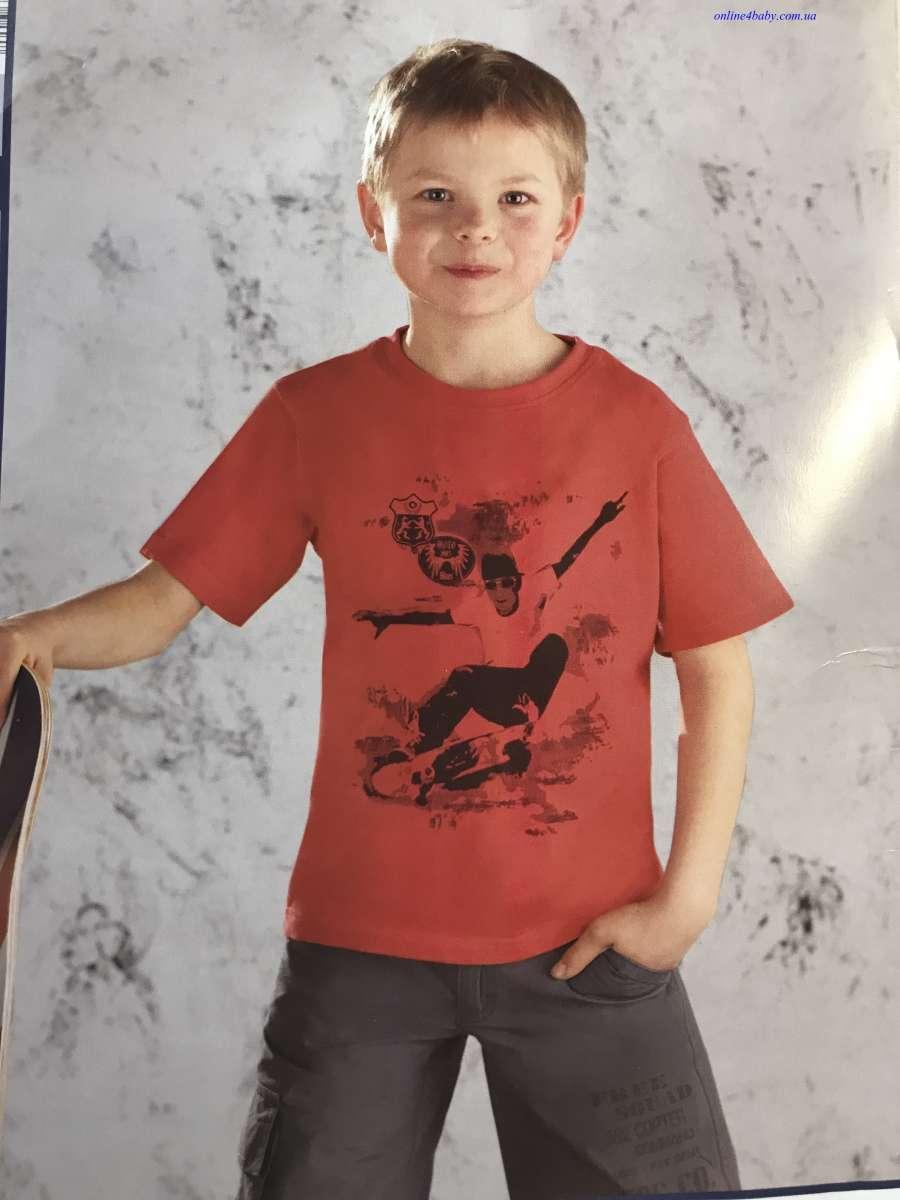 Детская футболка Pocopiano на мальчика 5-6, 7-8 лет, рост 116, 128