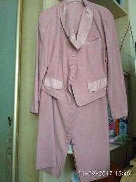 Костюм женский розовый