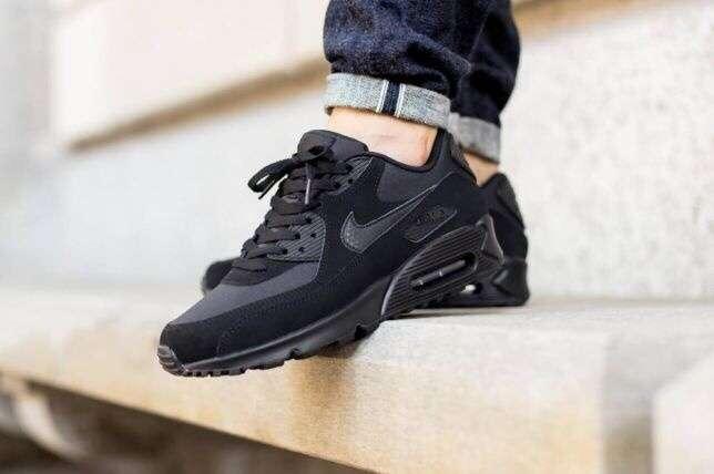 Кроссовки Nike Air Max 90 black.Вьетнам.