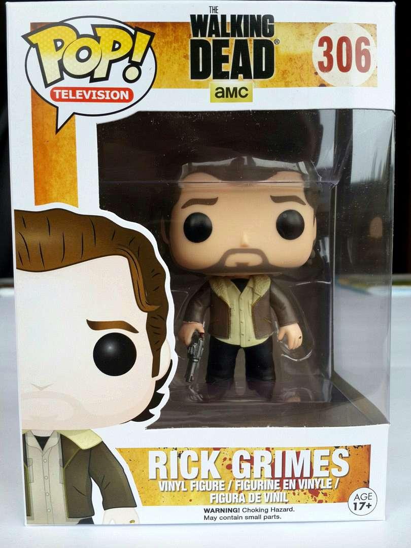 Funko POP: Walking Dead - Rick Grimes (Ходячие Мертвецы, Рик Граймс)