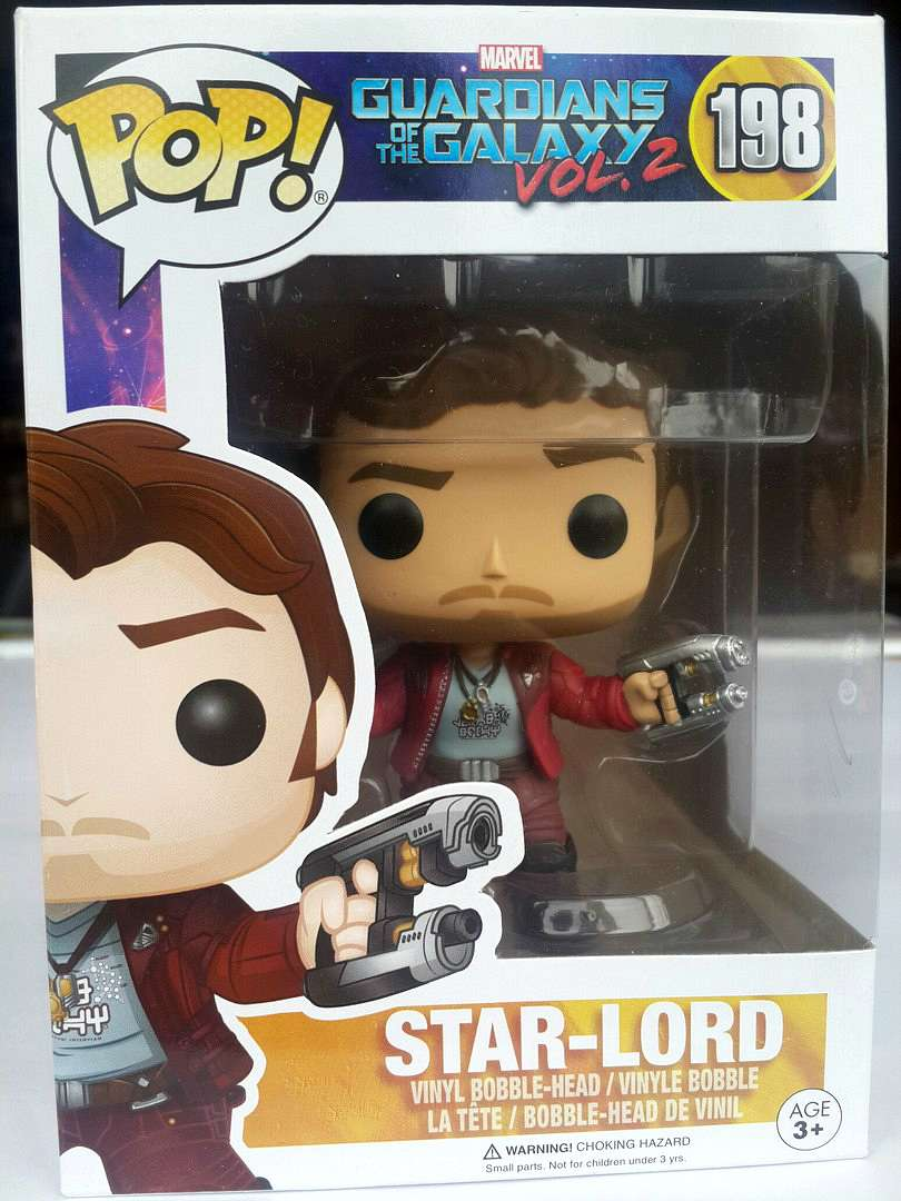 Funko POP Marvel: Guardians of the Galaxy Vol. 2 - Star-Lord (Марвел)
