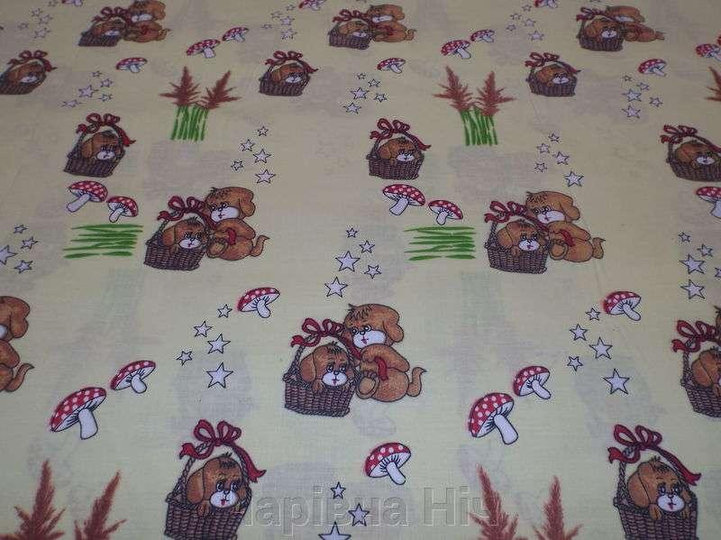 Ткань для пошива постельного белья и пелёнок - бязь Голд