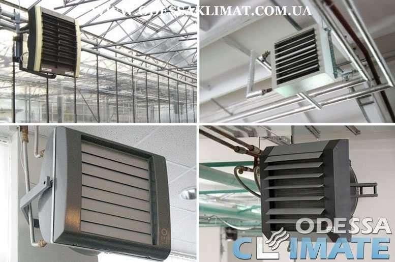 Тепловентиляторы Одесса - водяные - электрические
