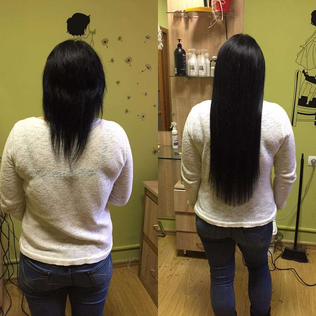 Киев качественное наращивание волос