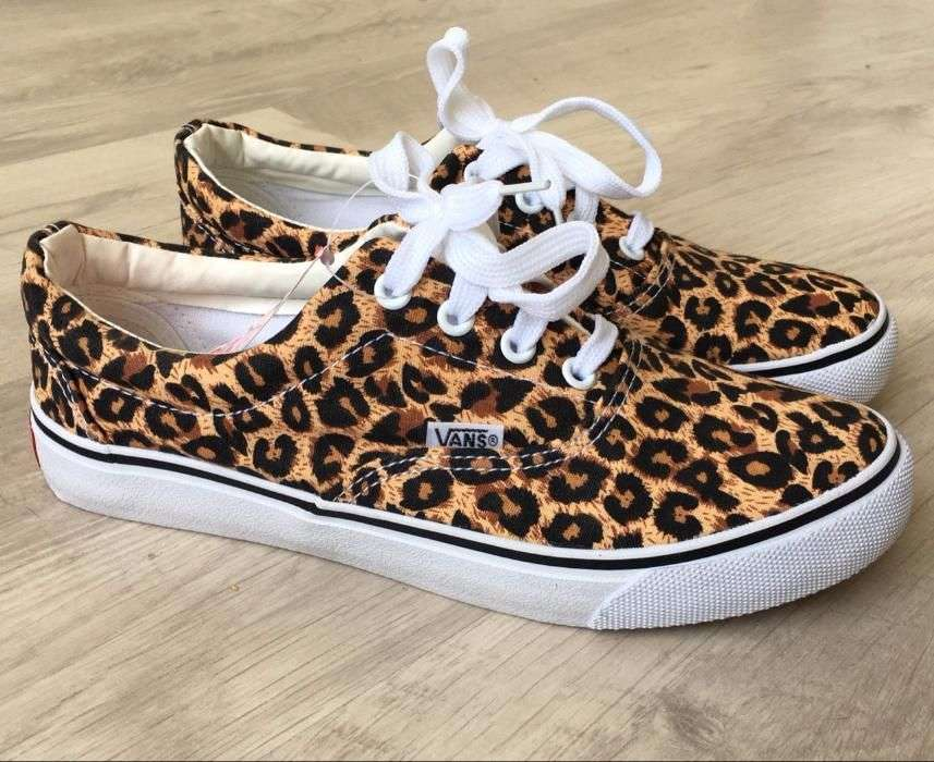 dd12e368b5bd Кеды Vans леопардовые: 299 грн - мода и стиль, одежда/ обувь в Киеве ...