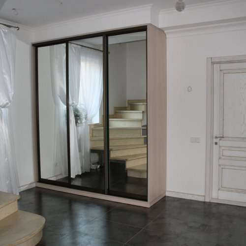 замена зеркала на двери шкафа купе Днепропетровск