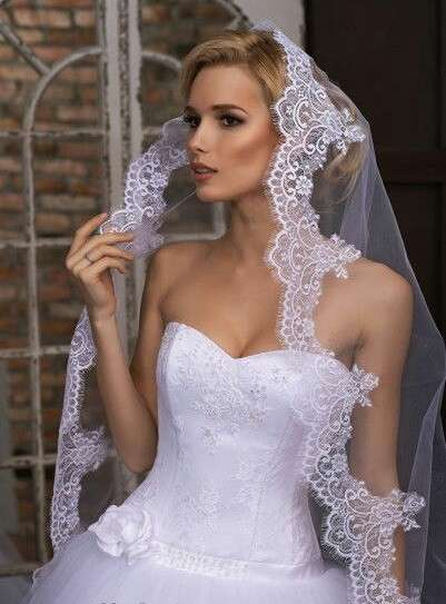 Фата (фаты) свадебые для невесты. Производитель. Недорого