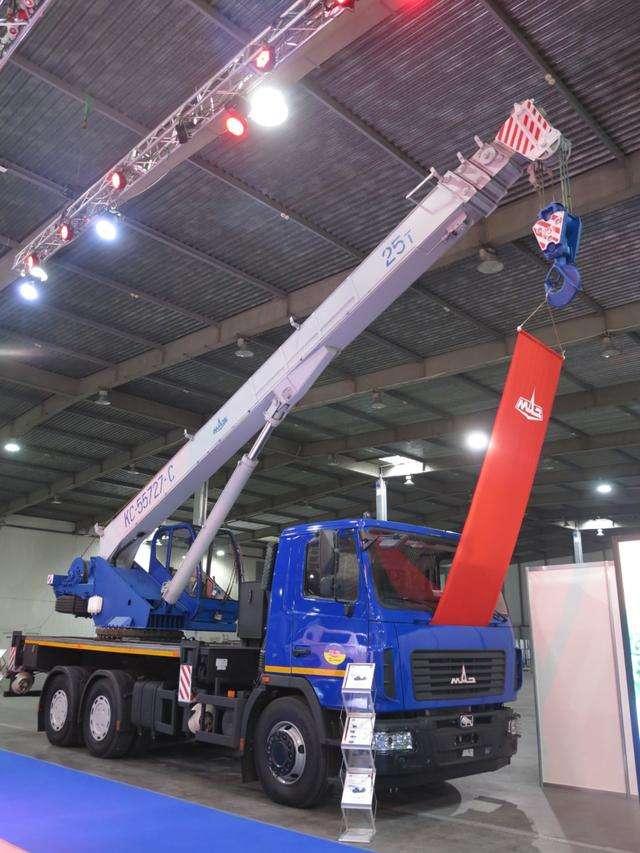 Продажа новых автокранов КС-55727-С-12 Машека 25 тонн на шасси МАЗ