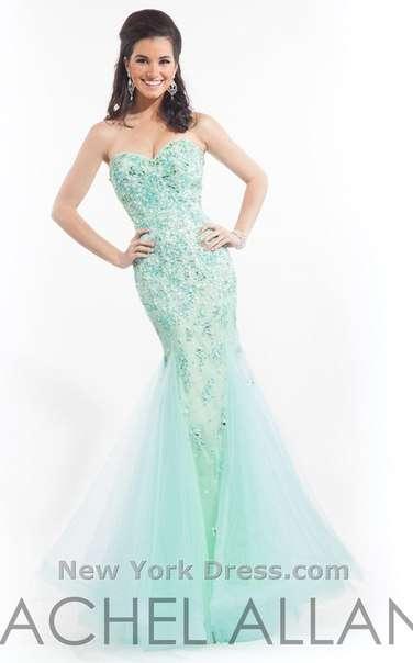 Продается нежное бирюзовое платье Rachel Allan