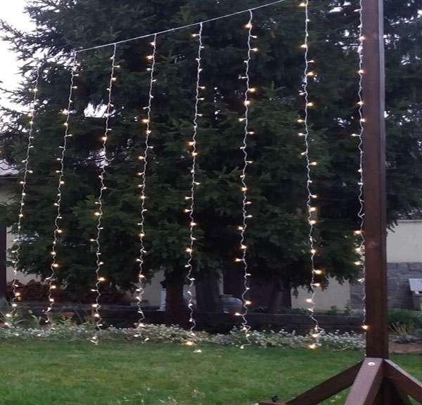 Светодиодные LED гирлянды шторы 3х3 м, аренда