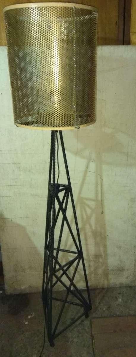 Лофт светильник-торшер