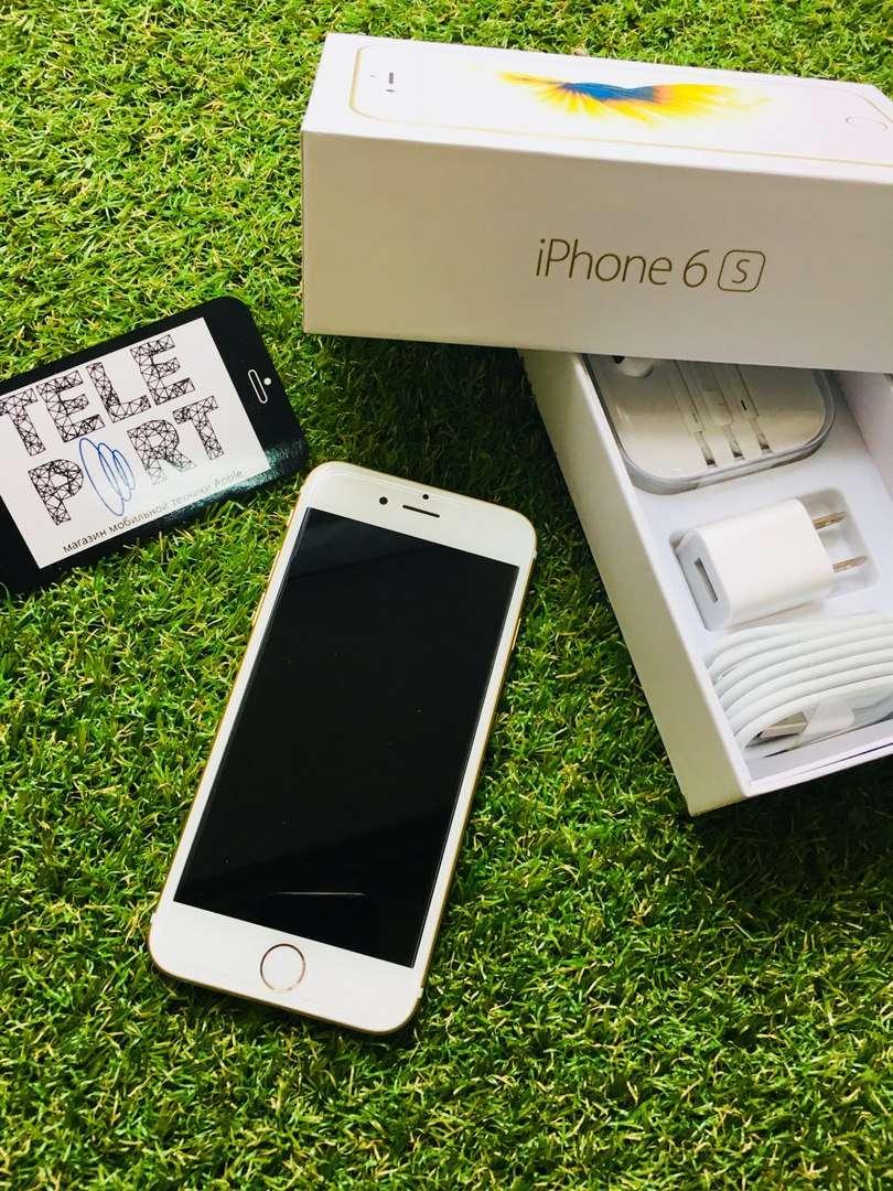 Отличный iPhone 6S 16 GB Gold Neverlock Магазин Гарантия!!!