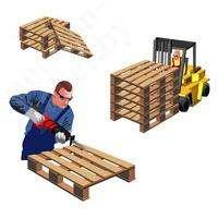 Грузчики и Ремонтники (деревянные поддоны)