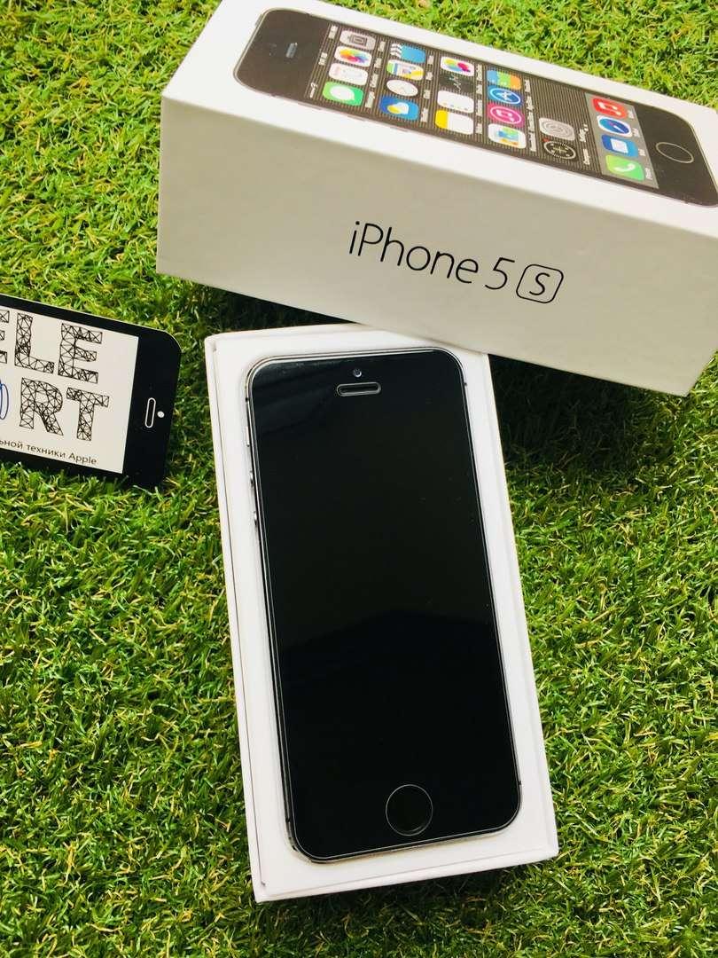 Гарантия Apple iPhone 5S 16GB Space Gray Neverlock Полный Комплект