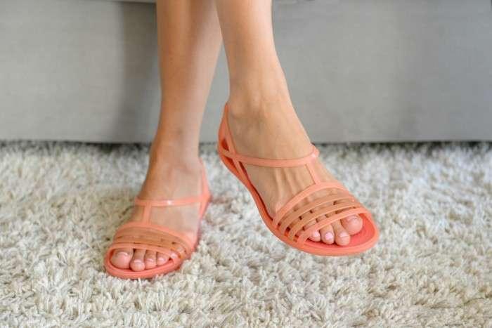 Босоножки CROCS Isabella Jelly Sandals W10 Оригинал