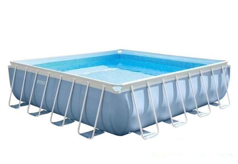 Каркасный бассейн басейн Intex 28764 Prism Frame Square 427 x 427 x