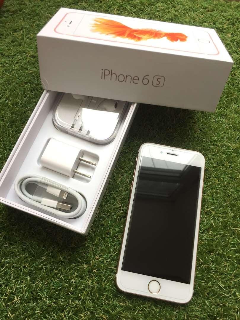 Гарантия Apple iPhone 6S 64GB Rose Gold Neverlock Полный Комплект
