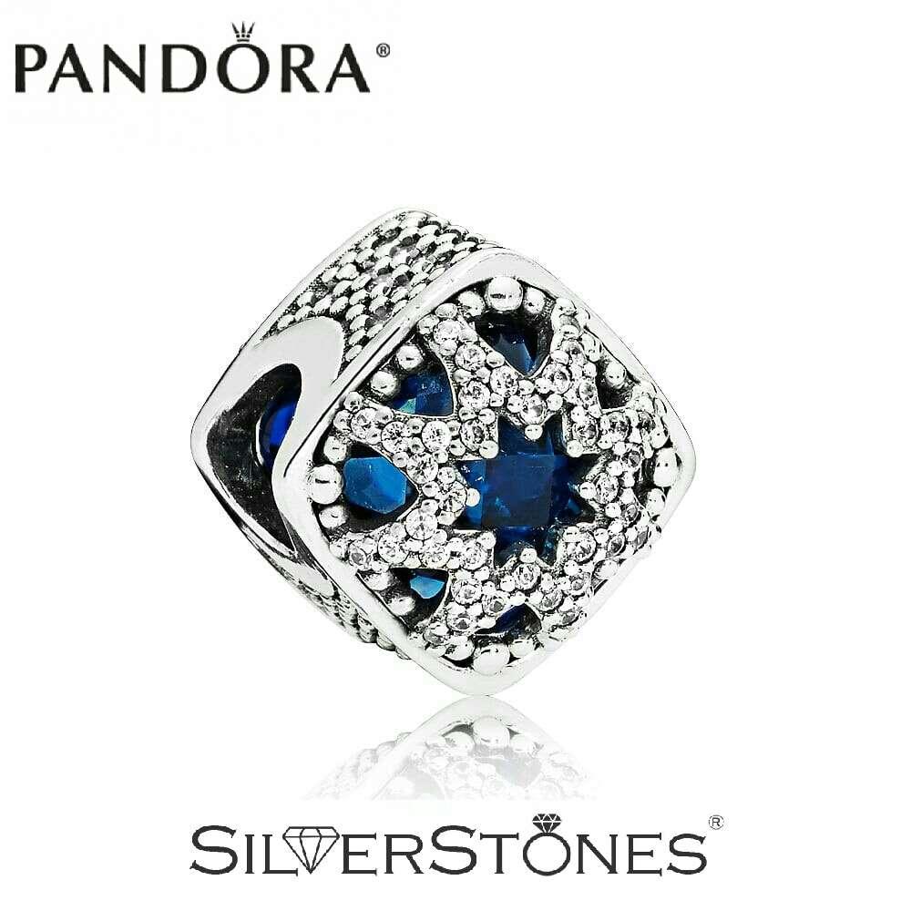 Скидки! Оригинал Pandora Пандора шарм Ледяная красота арт. 796360NSB