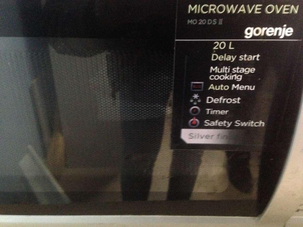 Микроволновка gorenje 20литров