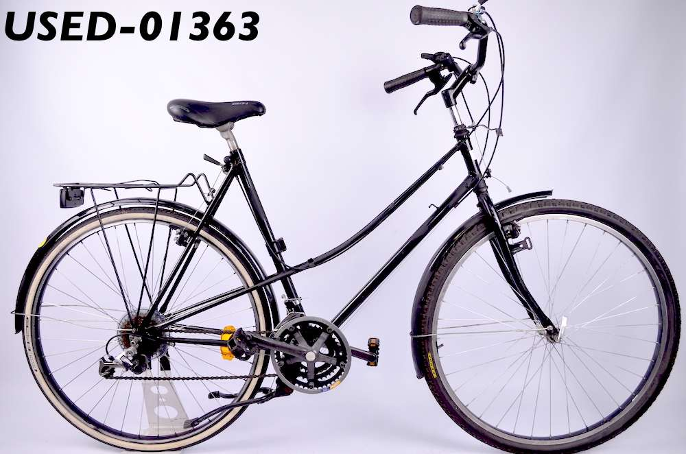 Городской бу велосипед City Black Артикул: USED-01363