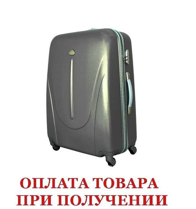 Чемодан сумка 882 XXL (небольшой) темно серый