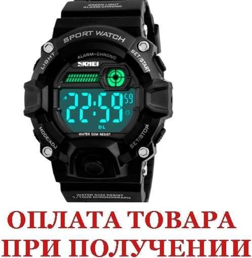 Мужские наручные часы  Skmei Kamo Black