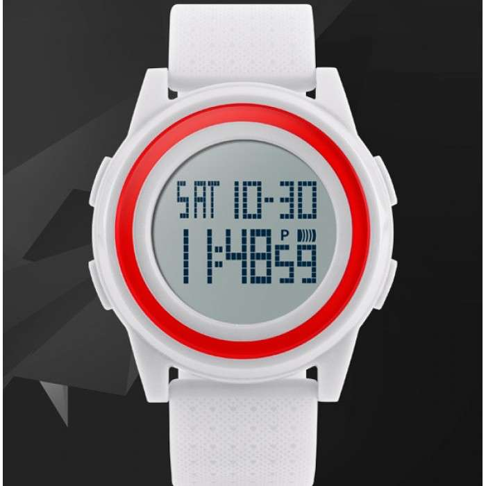 Мужские наручные часы Skmei Ultra New White