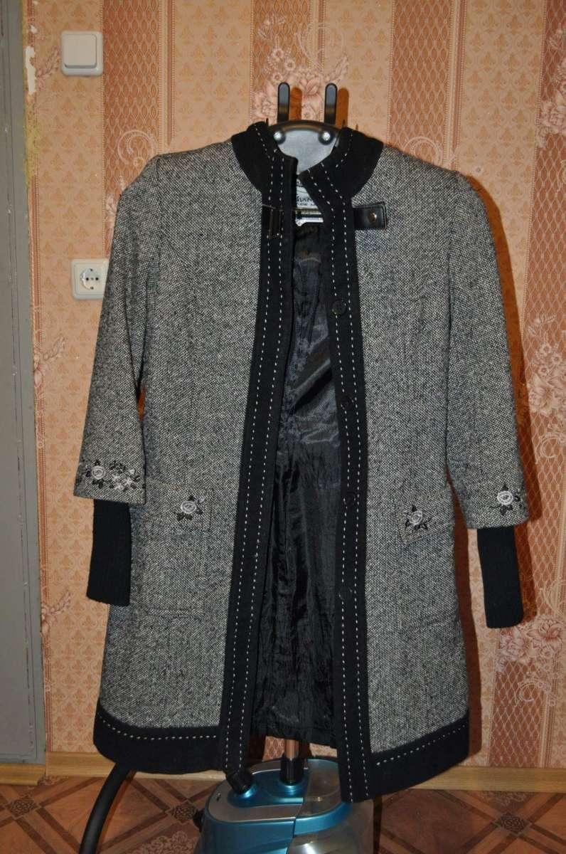 Пальто осень-весна. шерсть