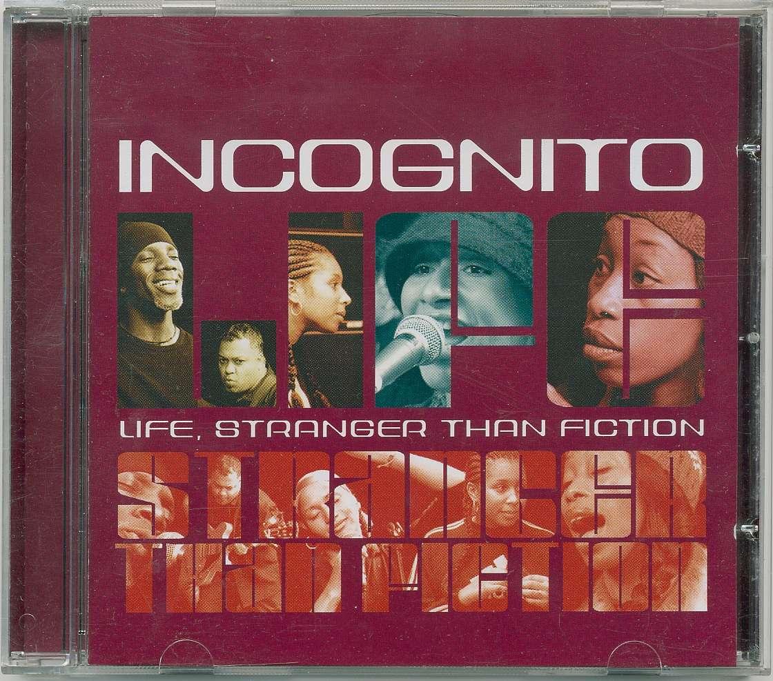 "Incognito - два CD: ""Life stranger than fiction"", ""Inside Life"""
