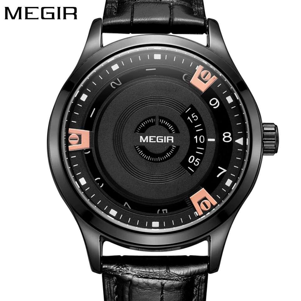 Продам новые кварцевые мужские часы фирмы Megir. 53905e644ea